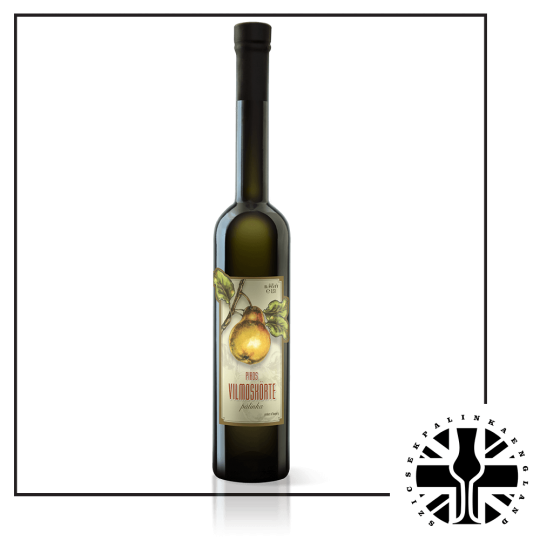 Premium Red Williams Pear Palinka (44%ABV, 0.5L)