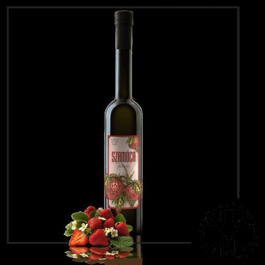 Premium Strawberry Palinka (44%ABV, 0.5L)