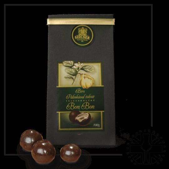 Quince Palinka Milk Chocolate Liquor 100 gr