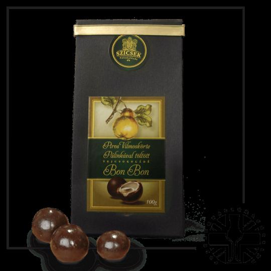 Pear Palinka Milk Chocolate Liquor