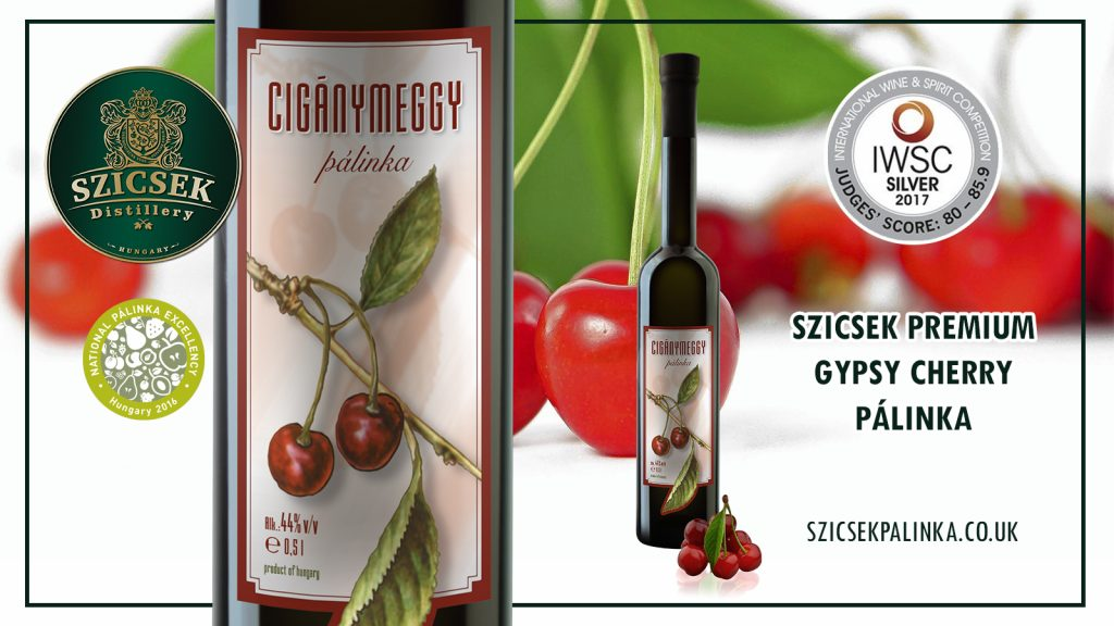 Premium Gypsy Sour Cherry Palinka