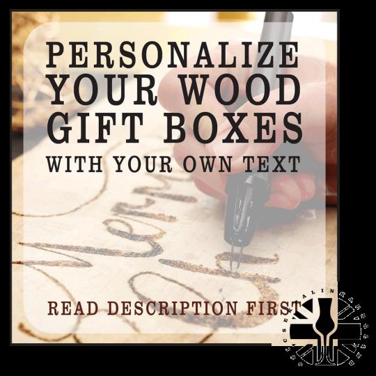 woodburning gift